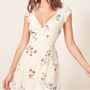 Reformation garnet dress